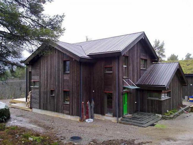норвезькі будинку з бруса
