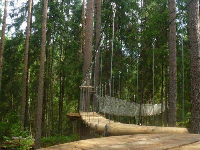 норвезький парк в Санкт Петербурзі