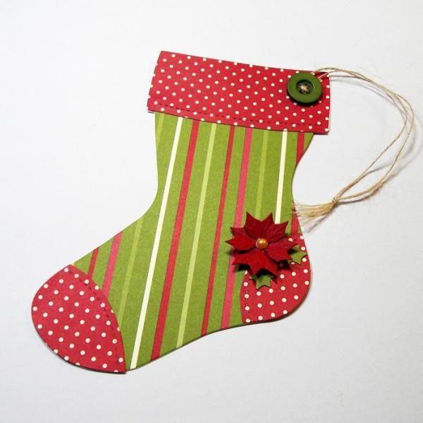 новорічний носок своїми руками