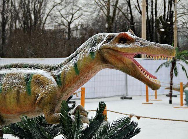 парк динозаврів в москві