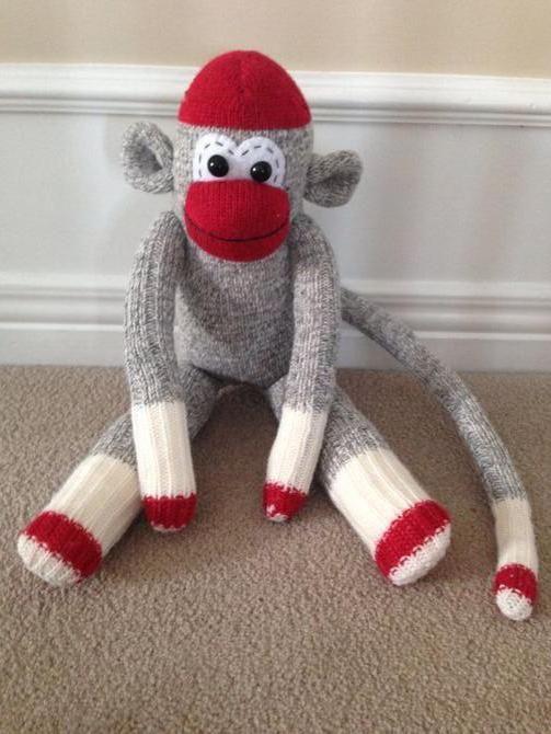 падлюка мавпочки на новий рік своїми руками