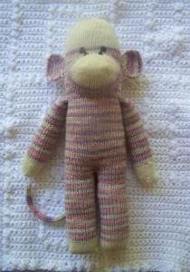 мавпочка спицями своїми руками на новий рік