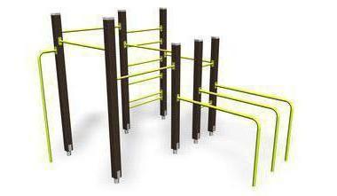 спортивне обладнання для дитячих майданчиків
