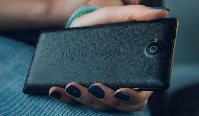 highscreen verge m