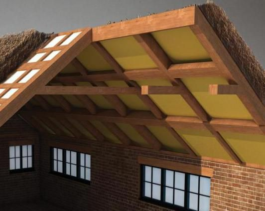 Фото - Вогнезахисна обробка дерев'яних конструкцій горищних приміщень: особливості