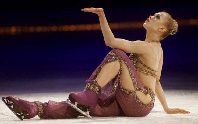олімпійська чемпіонка Оксана Баюл