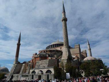 опис храму святої Софії в Константинополі