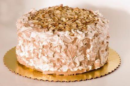 горіховий торт зі згущеним молоком