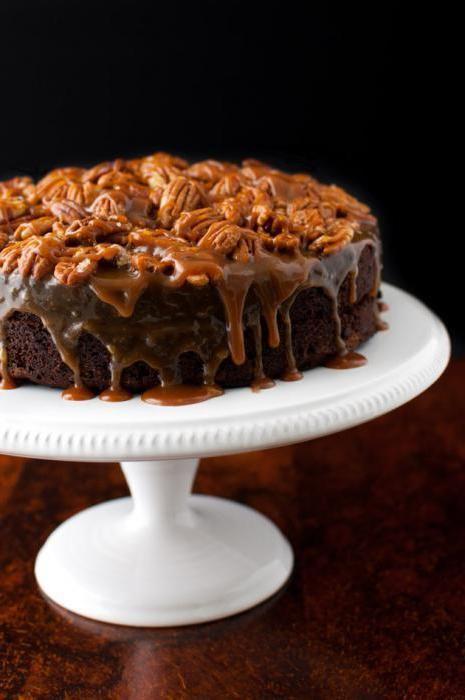 як приготувати горіховий торт