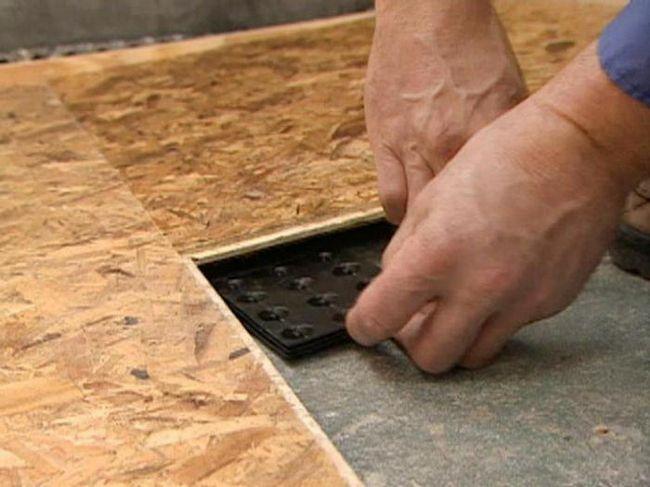 плита осб застосування для підлоги