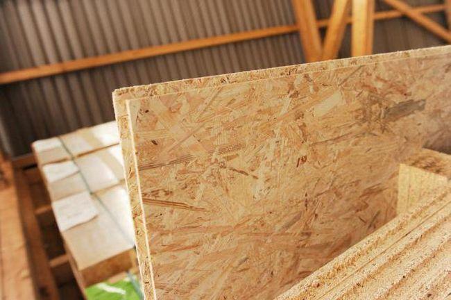 осб плита для підлоги товщина