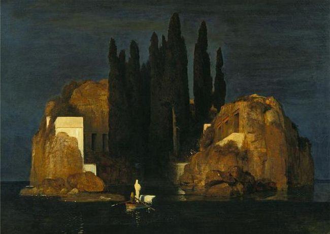 картина Беклина острів мертвих