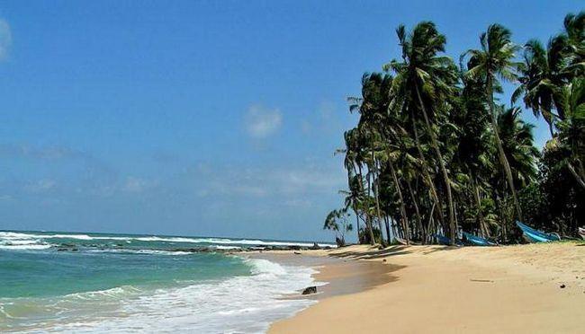 Шрі Ланка погода по місяцях