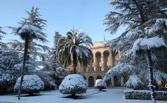 Зустріч нового року в Абхазії