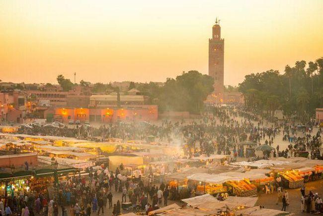 Погода в марокко в жовтні
