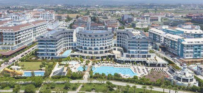 готелі туреччини сиде 5 зірок 1 лінія