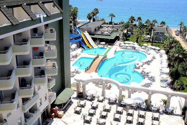 туреччина готель holiday garden resort hotel 5