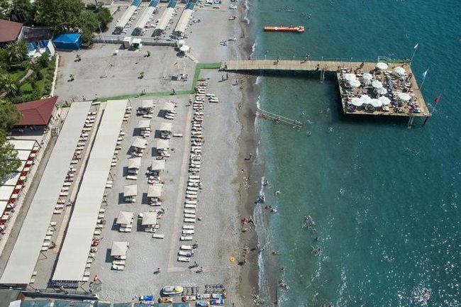 туреччина кемер катамаран резорт готель
