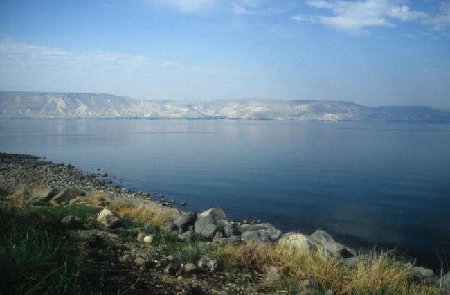 Фото - Озеро Тиверіадське - найбільше джерело прісної води. Пам'ятки Тиверіадського озера