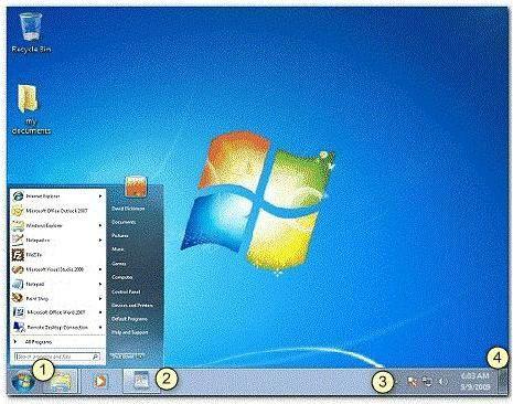 Фото - Панель швидкого запуску в 7 Windows: розуміння призначення елемента ОС