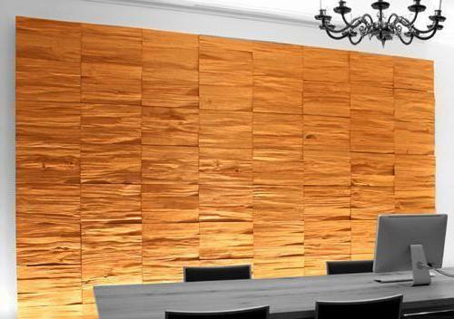 Фото - Панелі для стін під дерево - революційний вибух в обробці кімнат