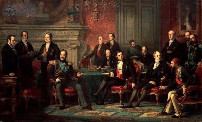 паризький мирний договір +1856