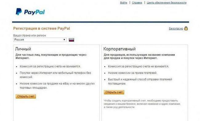 система paypal як користуватися