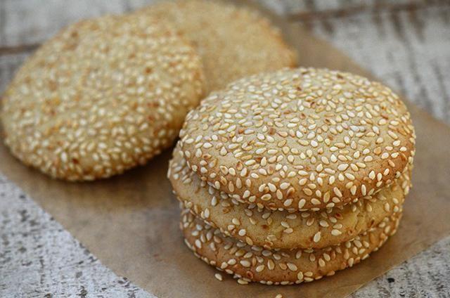 кунжутне печиво рецепт