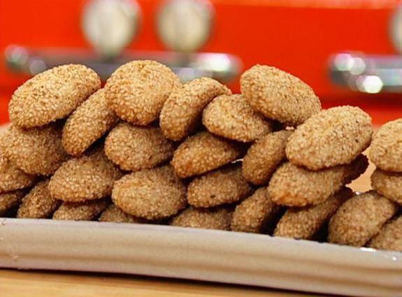 печиво з кунжутною борошна