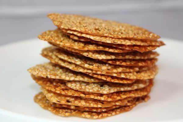 кунжутне печиво без борошна