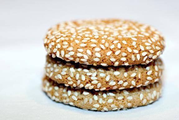 смачне кунжутне печиво