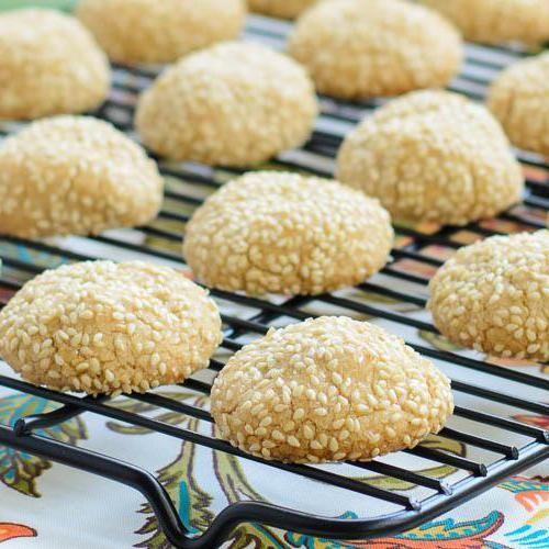 кунжутне печиво калорійність