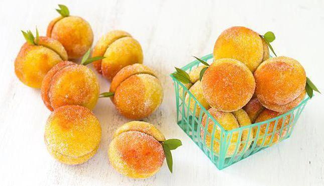 печиво персики рецепт