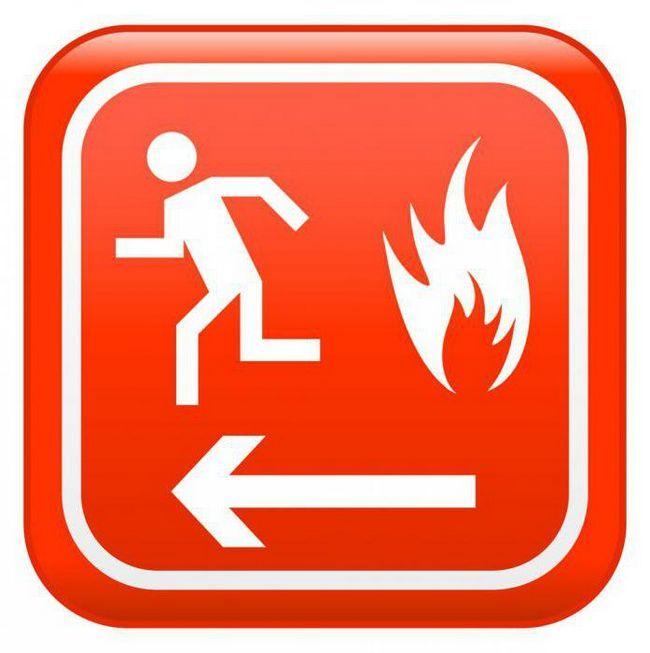 інструктаж з пожежної безпеки зразок