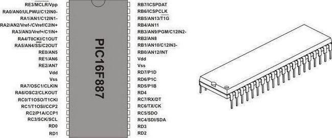 схеми на pic контролерах