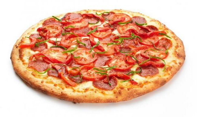 піца на кефірі за 10 хвилин