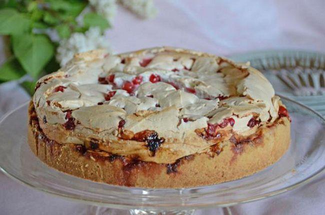 рецепт пирога зі смородиною в мультиварки