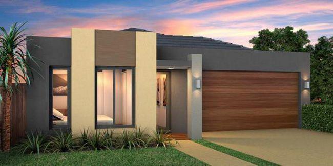 Планування одноповерхового будинку 12 на 12 з гаражем