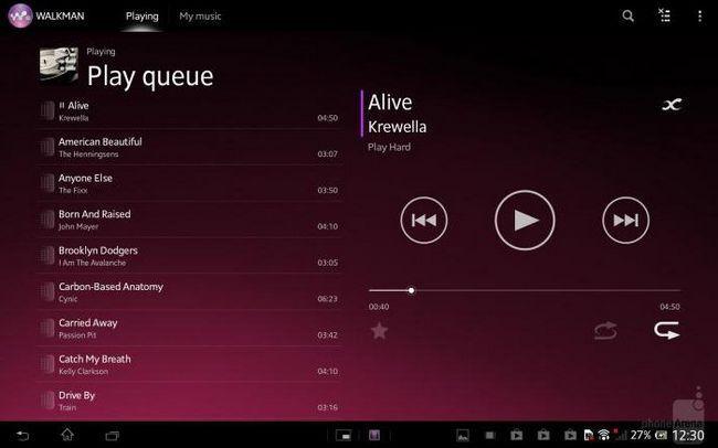 планшети sony xperia tablet z lte