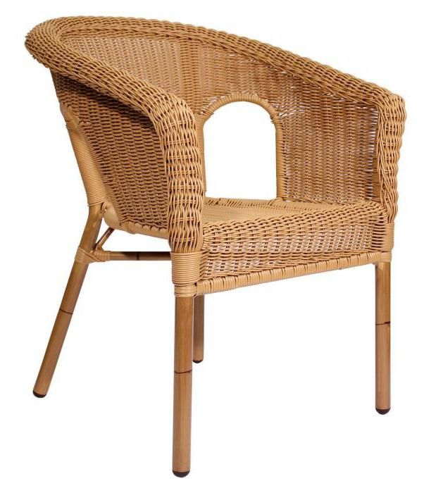 Фото - Плетене крісло: особливості та експлуатація