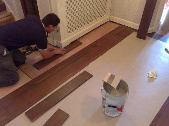 ремонт підлог суха стяжка