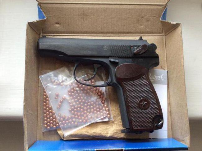 Фото - Пневматичний пістолет Макарова МР-654: огляд, характеристики та відгуки