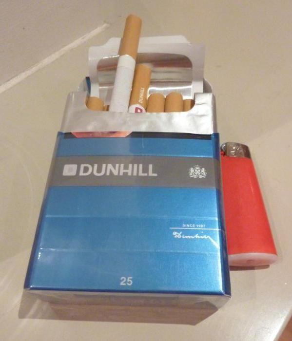 сигарети Данхілл фото