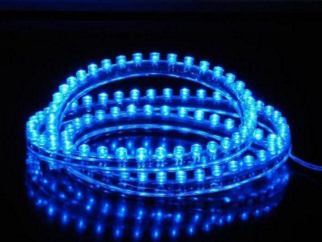 підключення трансформатора до світлодіодним стрічці