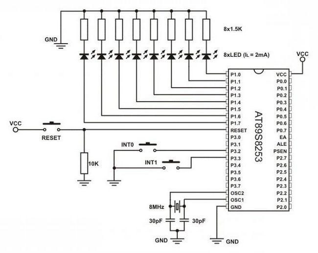 підключення світлодіодної стрічки до мережі 220в схема