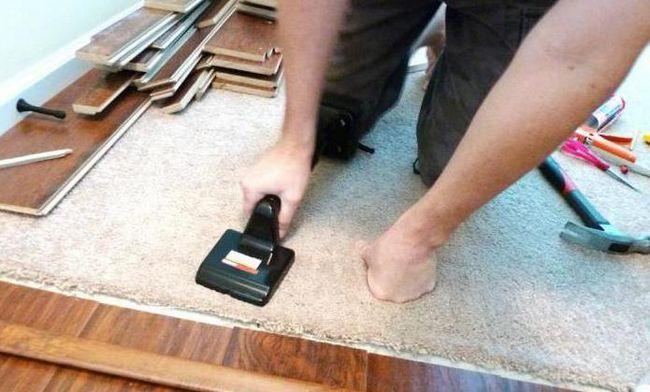 підкладка на бетонну підлогу під ламінат