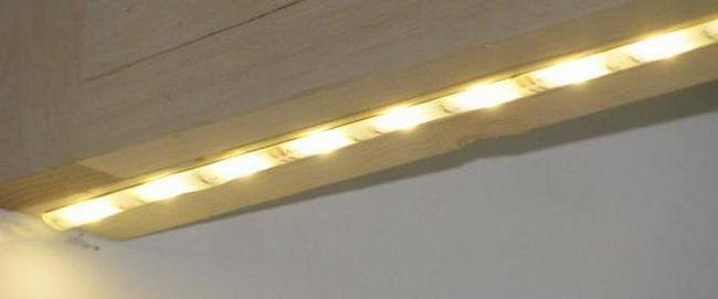 Підсвічування для кухні під шафи світлодіодна