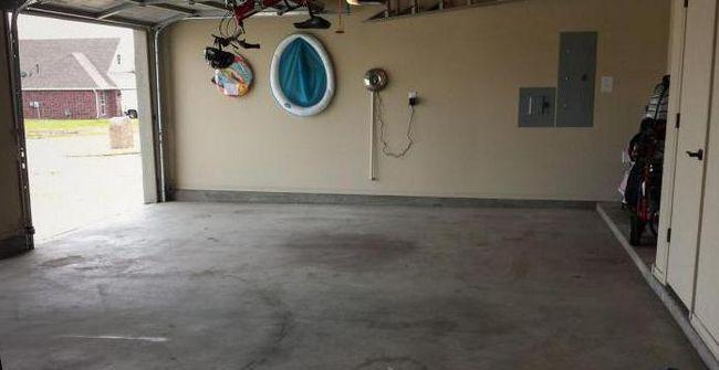 стяжка підлоги в гаражі