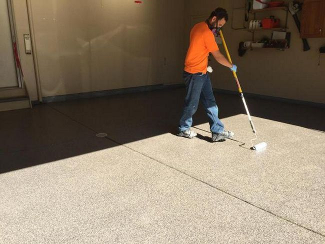 фарба для бетонної підлоги в гаражі