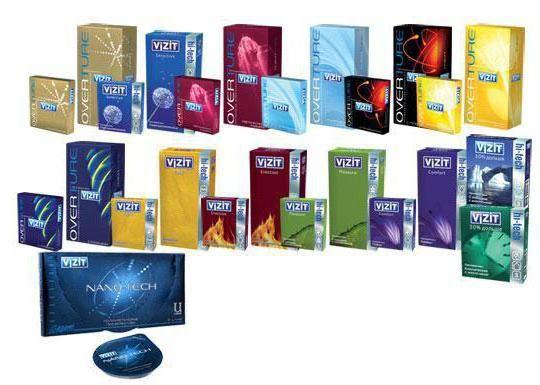 Фото - Поліуретановий презерватив Vizit Nano-Tech
